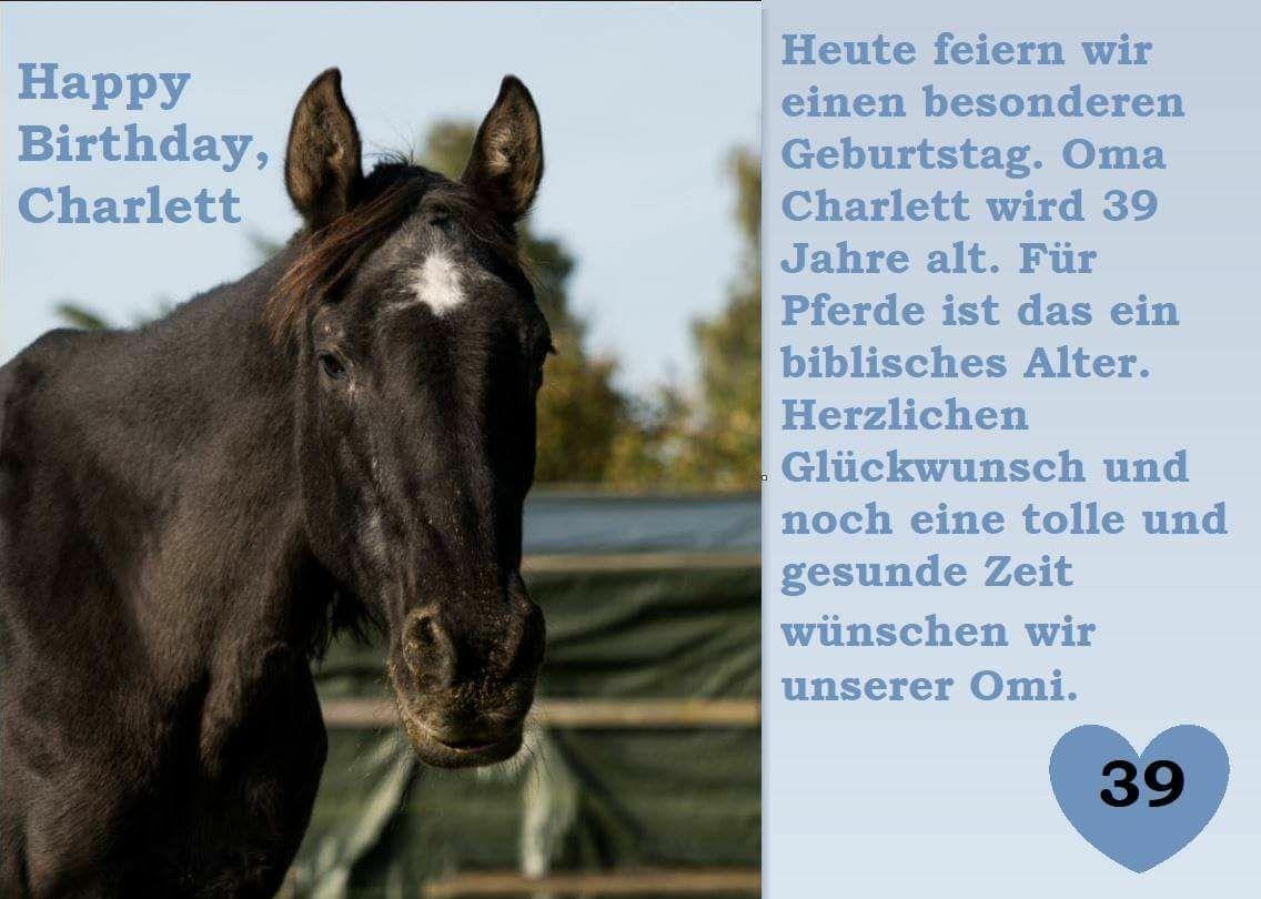 Tier Refugium Wegberg E V Herzlichen Gluckwunsch Charlett